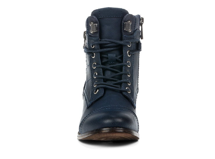 "[""Stomper Chelsee Girl navy blue "", "" gender-womens type-light boots style-casual""]"