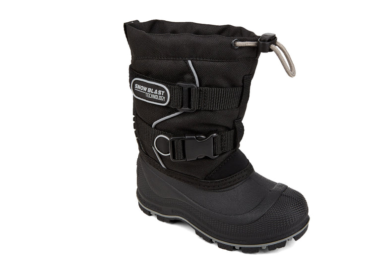 Windstorm 2.0 Snowblast black & silver 108102-86 gender-boys type-toddler style-winter boots
