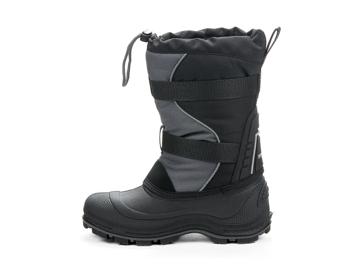"[""Windstorm 2.0 Snowblast black & grey "", "" gender-boys type-youth style-winter boots""]"
