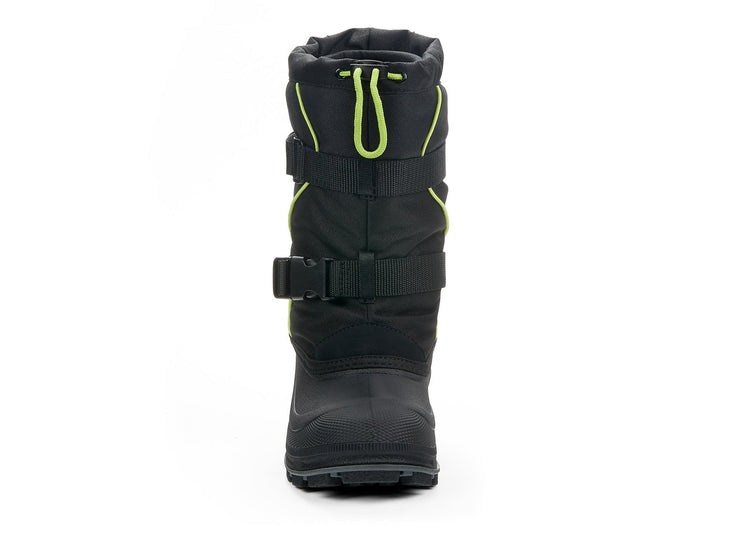 Windstorm Boys Snowblast black & green 108110-12 gender-boys type-junior style-winter boots