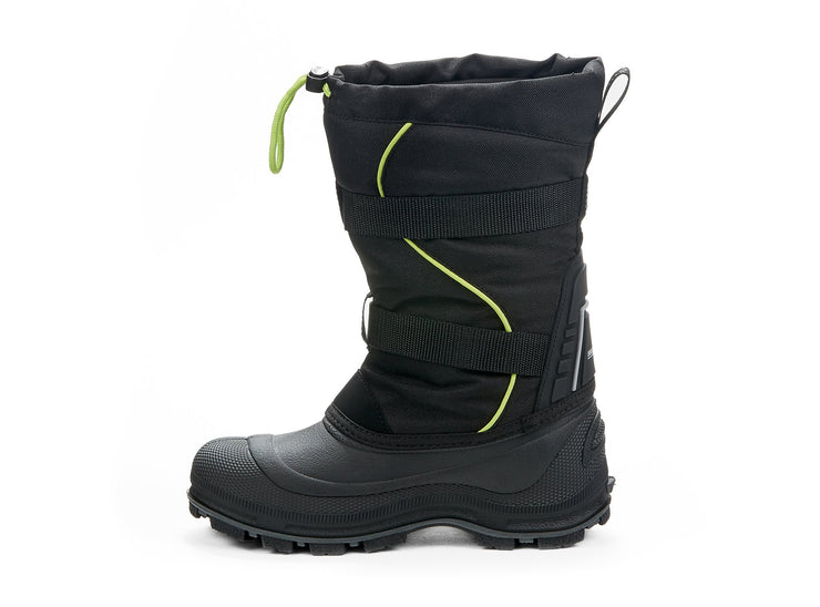 "[""Windstorm Boys Snowblast black & green "", "" gender-boys type-junior style-winter boots""]"
