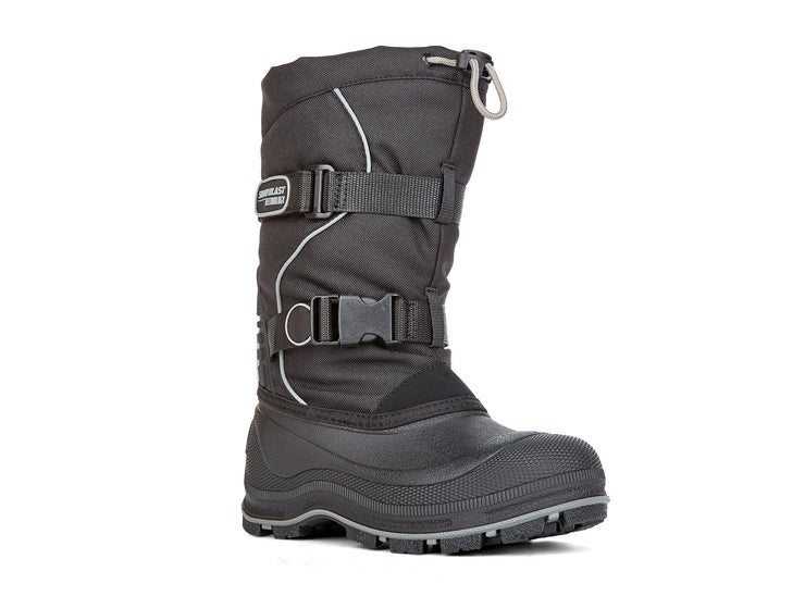 Windstorm Boys Snowblast black & silver 108110-86 gender-boys type-junior style-winter boots