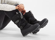 "[""windstorm boys  black & silver "", "" gender-boys type-junior style-winter boots""]"