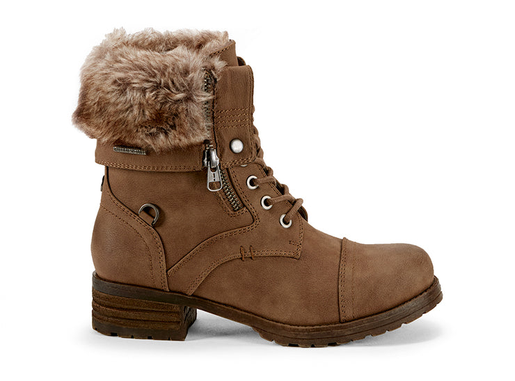 Borealis High Chelsee Girl cognac 108280-25 gender-womens type-winter boots style-casual