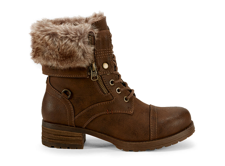 Borealis High Chelsee Girl cognac 108280-31 gender-womens type-winter boots style-casual