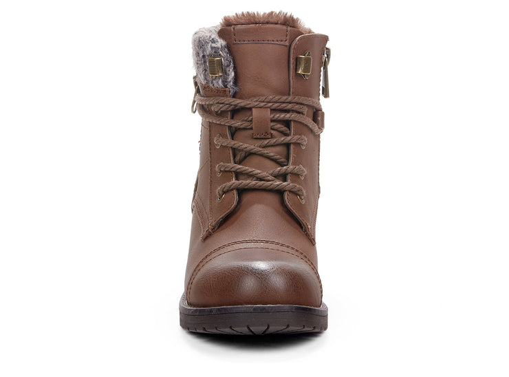 Fireside Chelsee Girl cognac 108281-31 gender-womens type-winter boots style-casual