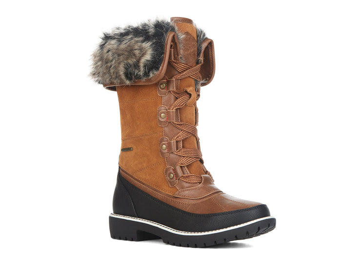 "[""Snowbound Riverland camel "", "" gender-womens type-winter boots style-casual""]"