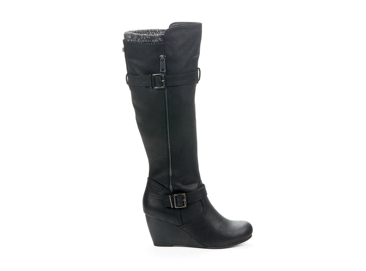 "[""Bestday Chelsee Girl black "", "" gender-womens type-winter boots style-casual""]"