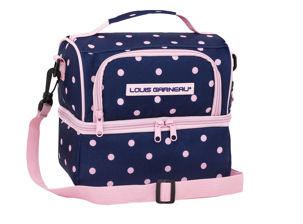 Louis Garneau polka dots Lunchbox