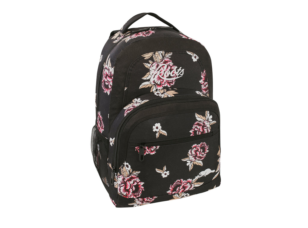 Roots Peony Flowers Backpack