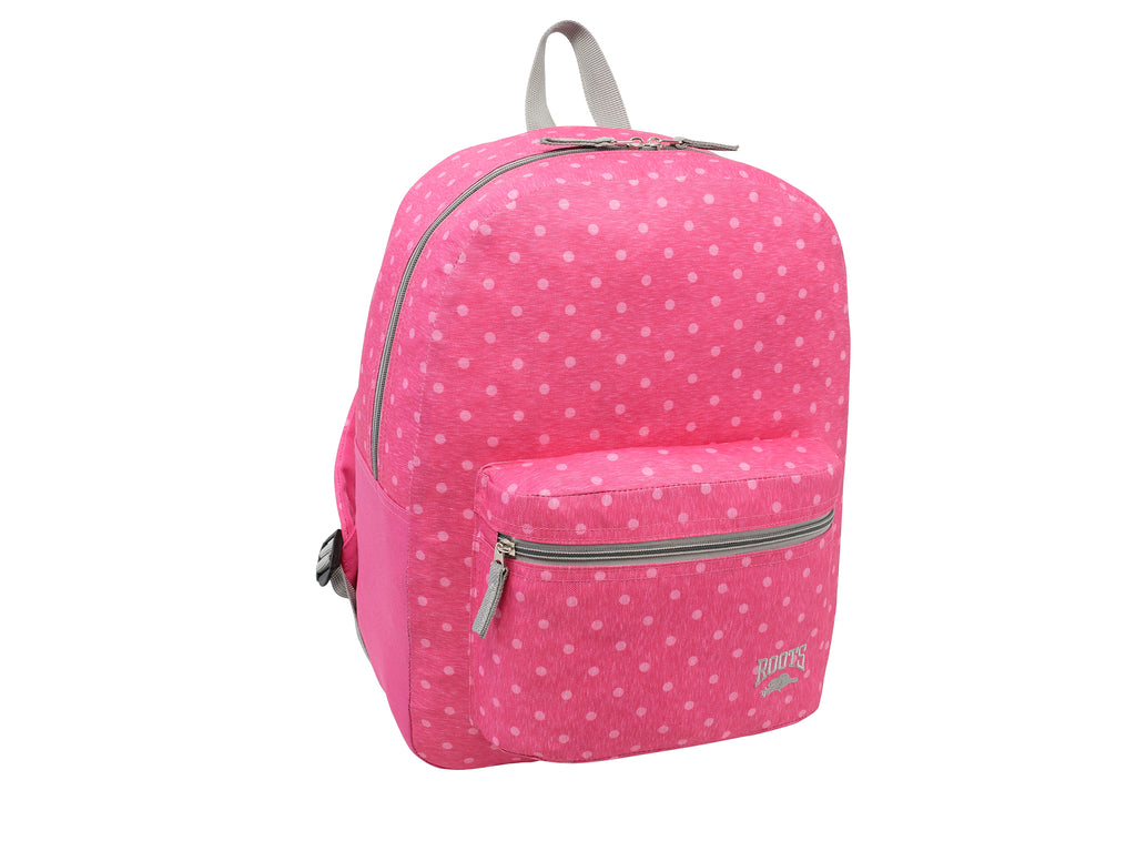 Roots Pinky Polka Dots Backpack