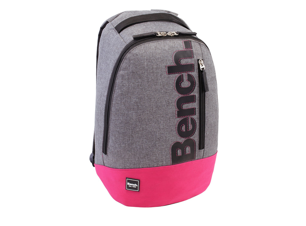 Bench Grey-Pink Backpack