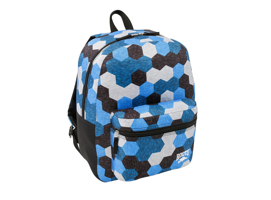 Roots Blue Geo Backpack