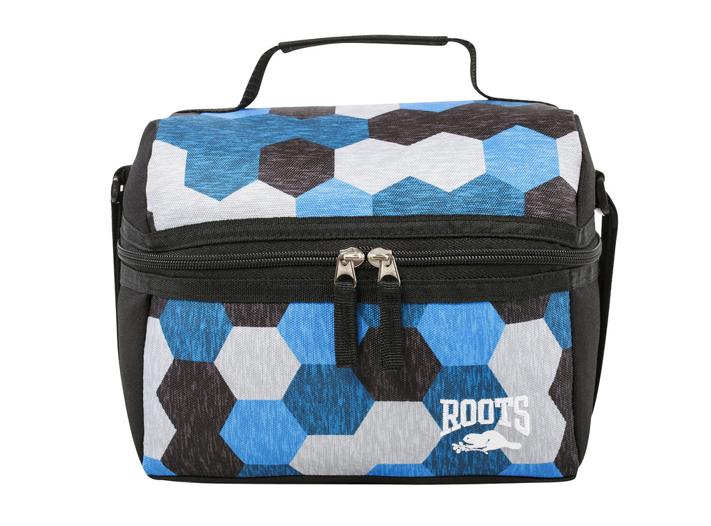 Roots Blue Geo Lunchbox