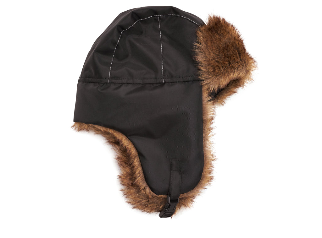 Black Men's Trapper Hat