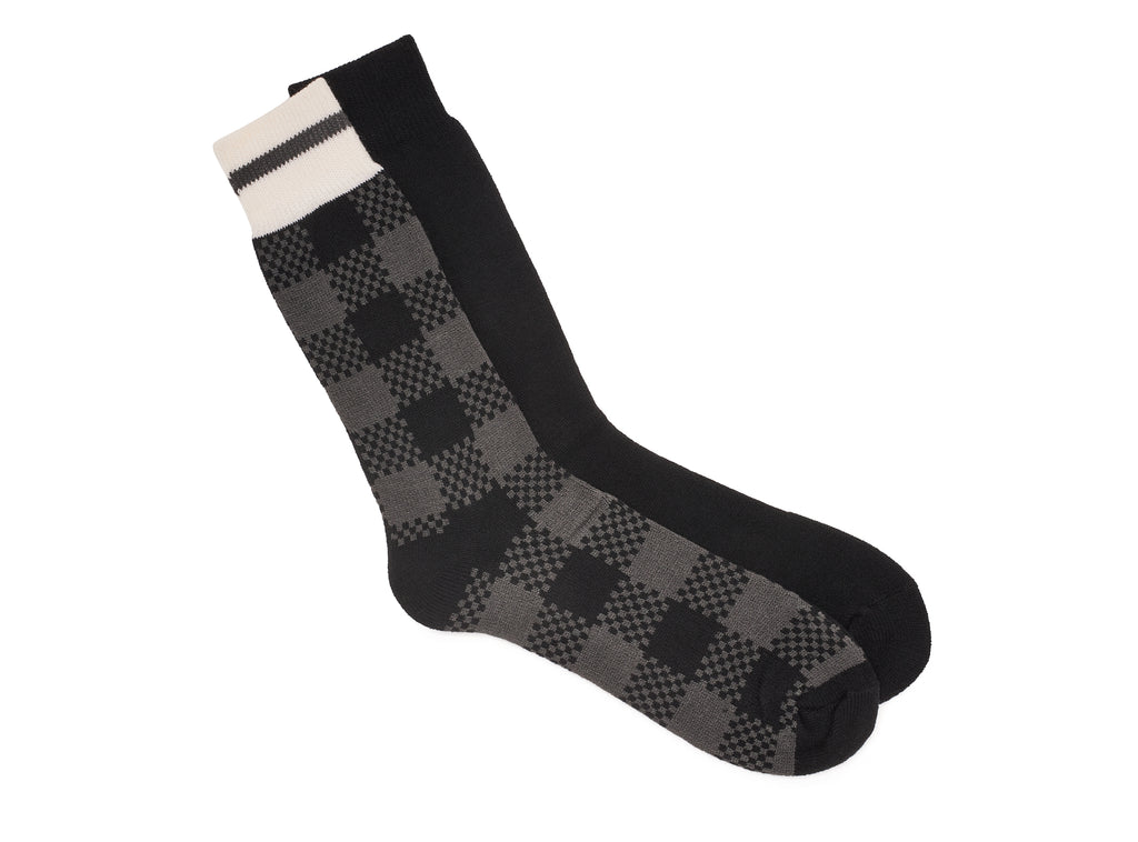 POLAR HEAT LIGHT - 2 pairs of socks for men
