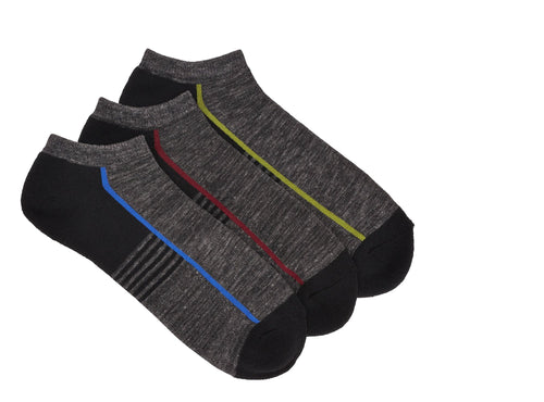 POINT ZERO - 3 Pairs of socks for Men