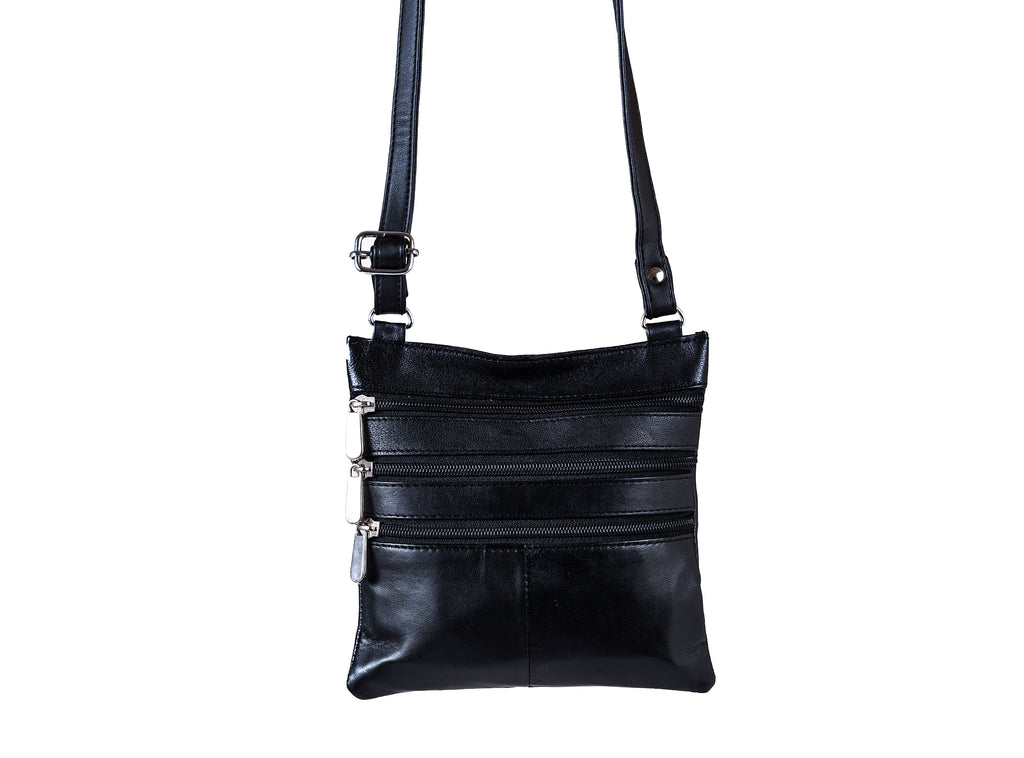 CHAMPS Leather crossbody bag