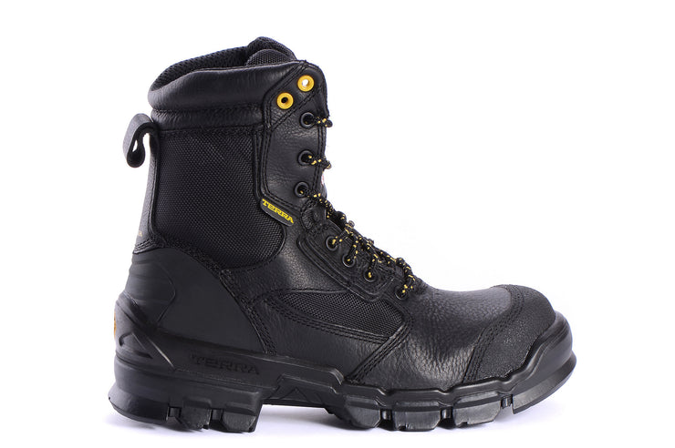 "[""Aerial 805525 TERRA Black "", "" gender-mens type-security boots style-utility""]"