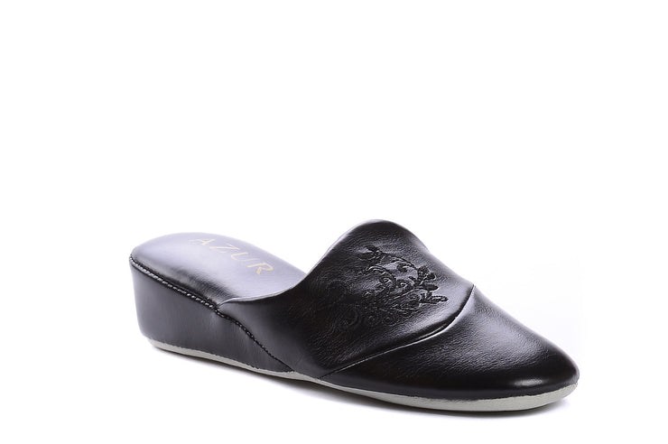 jewel azur black 100042-01 gender-womens type-slippers style-indoor