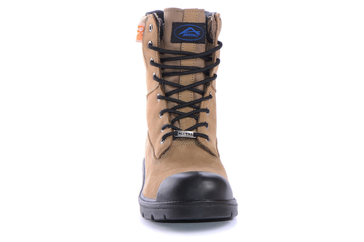 "[""prolite acton tan "", "" gender-mens type-security boots style-utility""]"