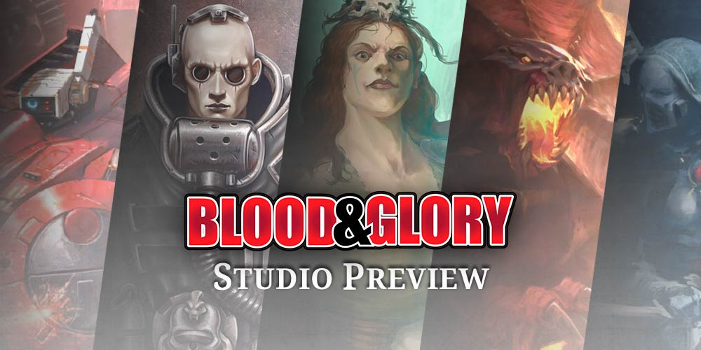Blood & Glory : Nouveau Battletome, chapter approved et plus encore !