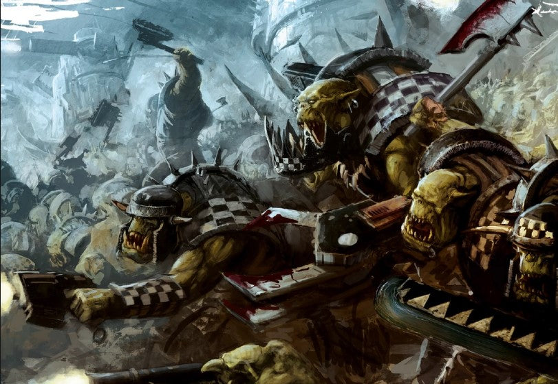 Fokus codex Orks : Clan Goff !