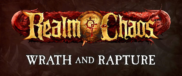 Games Workshop Précommandes de Wrath and Rapture ce week-end !