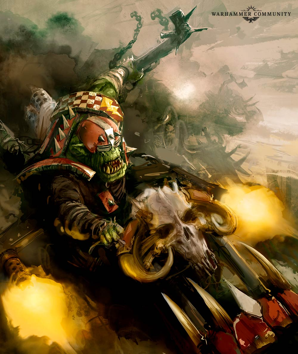 Fokus Codex Orks :  Clan Evil Sunz!