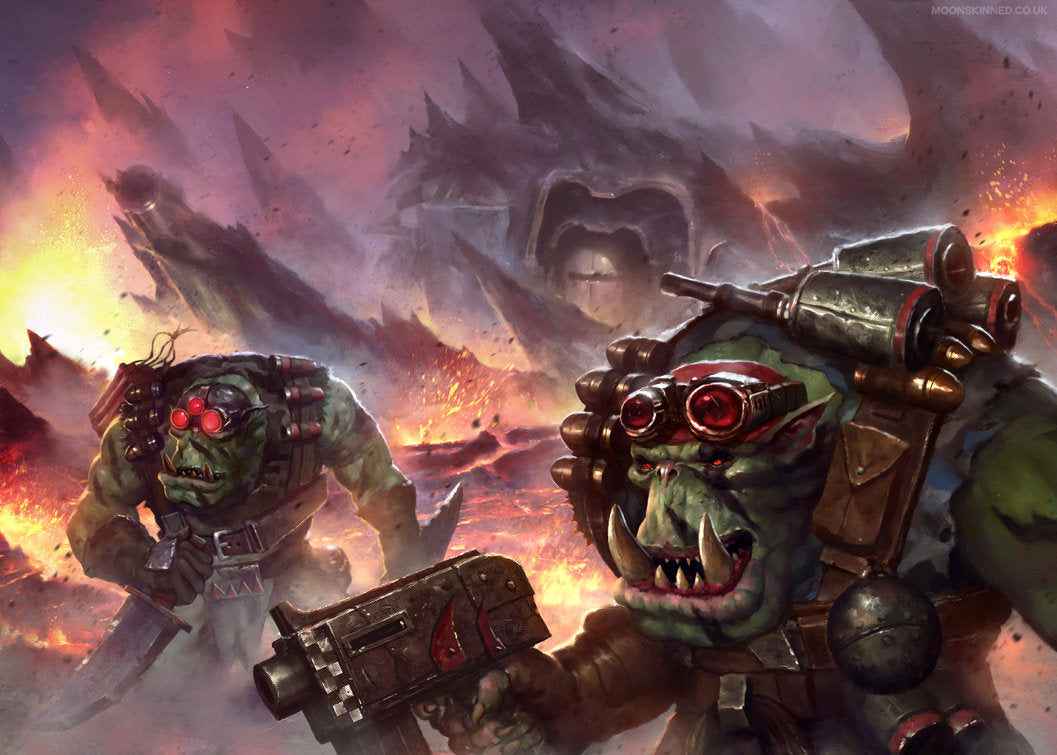 Fokus Codex Orks :  Clan Blood Axes !