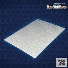 INFINITY: 2MM HEXAGONAL TEXTURED PVC SHEET
