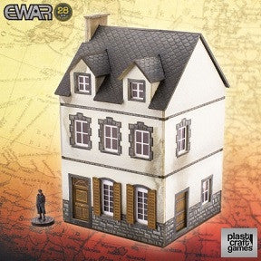 EWAR: TWO-STOREY BUILDING (28MM SCALE)