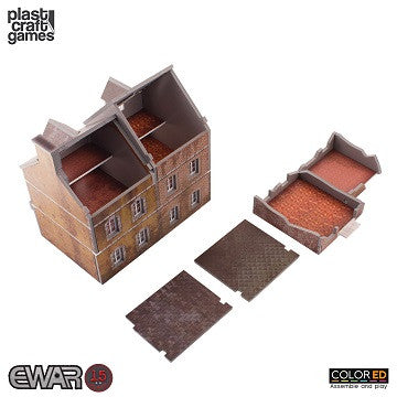 EWAR: SEMI-DETACHED BUILDING COLOUR ED (15-20MM SCALE)