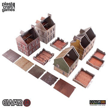 EWAR: BUILDING SET COLOUR ED (15-20MM SCALE)