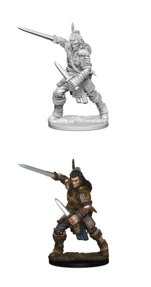 PF UNPAINTED MINIS: HUMAN MALE FIGHTER
