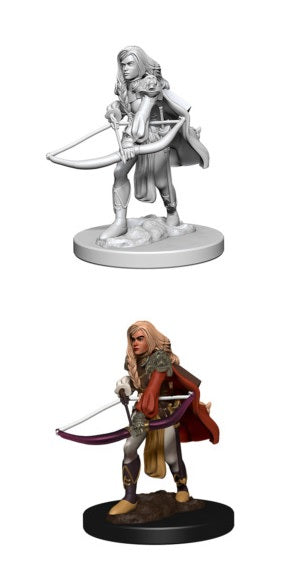 PF UNPAINTED MINIS: HUMAN FEMALE FIGHTER