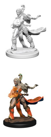 PF UNPAINTED MINIS: HUMAN FEMALE SORCERER