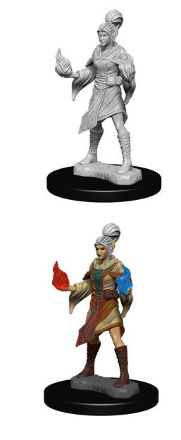 PF UNPAINTED MINIS: ELF FEMALE SORCERER