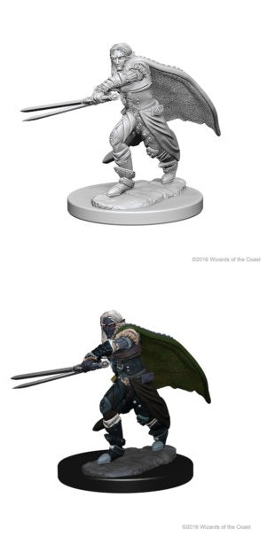 D&D UNPAINTED MINIS: ELF MALE RANGER