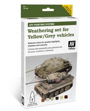 WEATHERING YELLOW AND GREY VEHICLES (6)