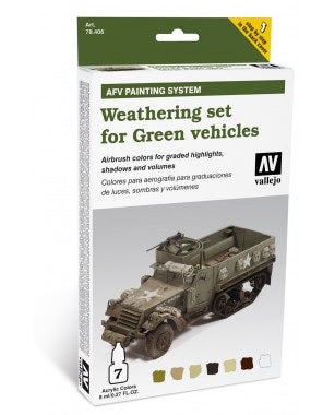 WEATHERING FOR GREEN VEHICLES (6)