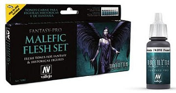 FP 8 COLOR SET - MALEFIC FLESH SET (8)