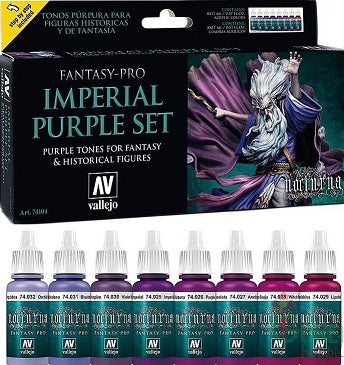 FP 8 COLOR SET - IMPERIAL PURPLE (8)