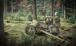 PaK 40 AT Gun with Crew