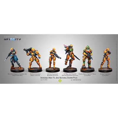 Infinity: Yu Jing Invincible Army Sectorial Starter Pack