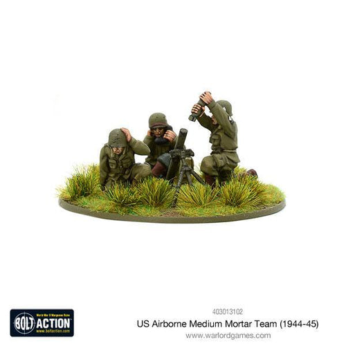 US Airborne medium mortar team (1944-45)
