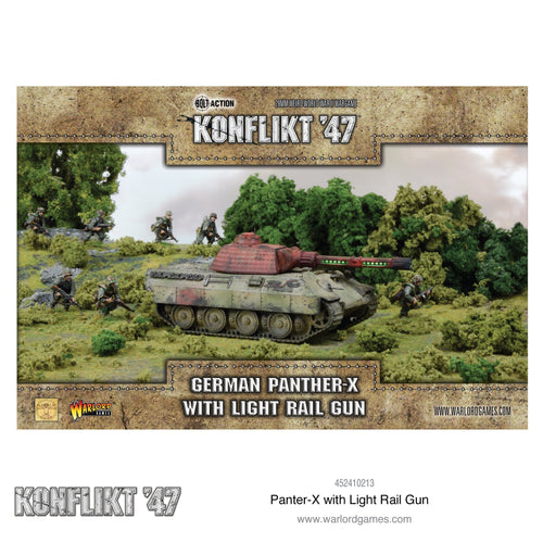 Konflikt '47: German Panther-X with light rail gun