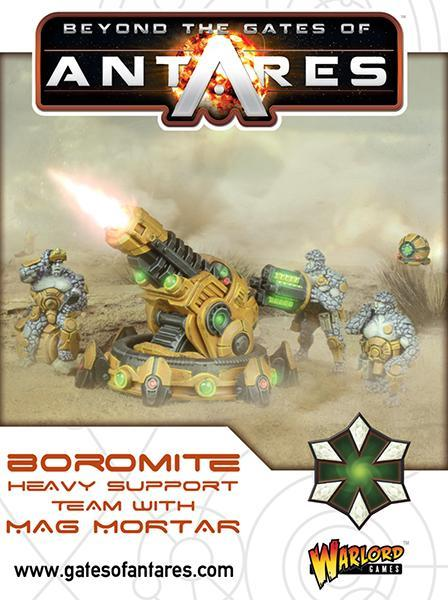 Boromite heavy support team with Mag Mortar