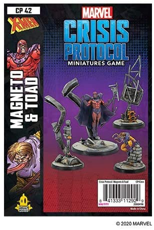 Magneto & Toad Character Pack