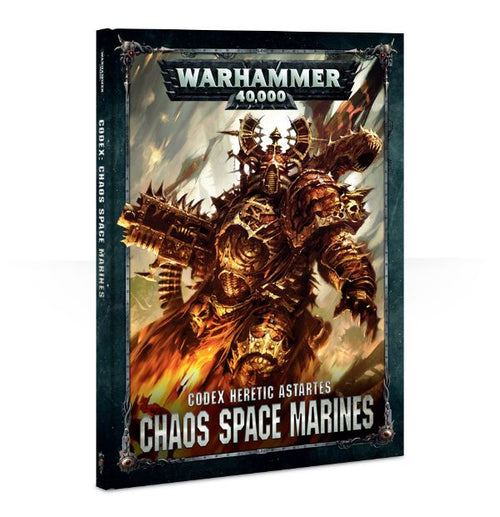 CODEX: CHAOS SPACE MARINES (HB)